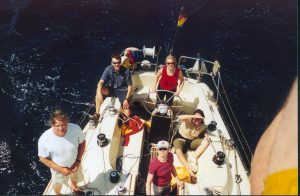 Bootsführerscheine auf dem Meer